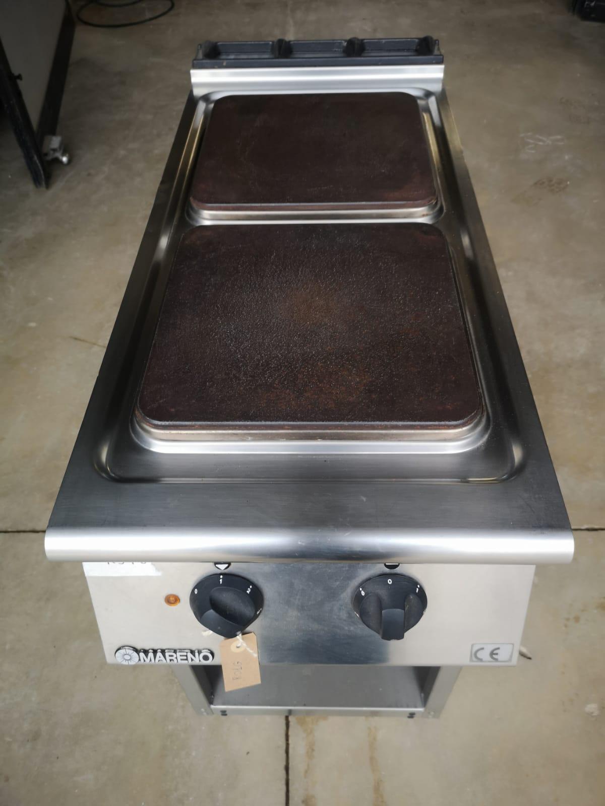 Cucina elettrica 2 piastre Mareno
