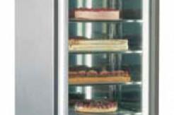 Congelatori verticali con porte a vetro
