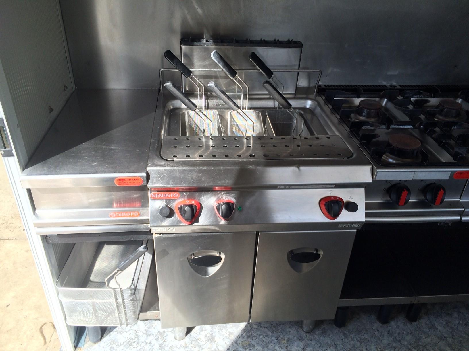Cucine Per Ristorazione Usate.Noleggio Cucina Attrezzata Cryo Trade