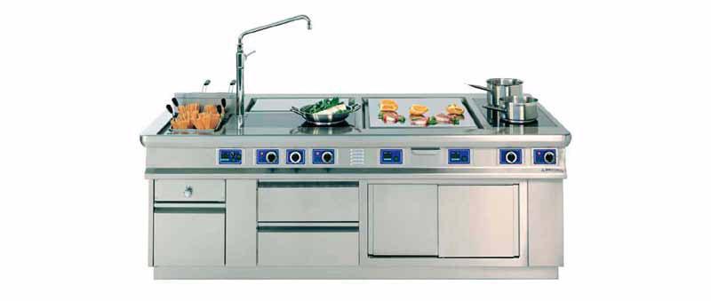 Cucine monoblocco e piani di cottura - Cryo Trade